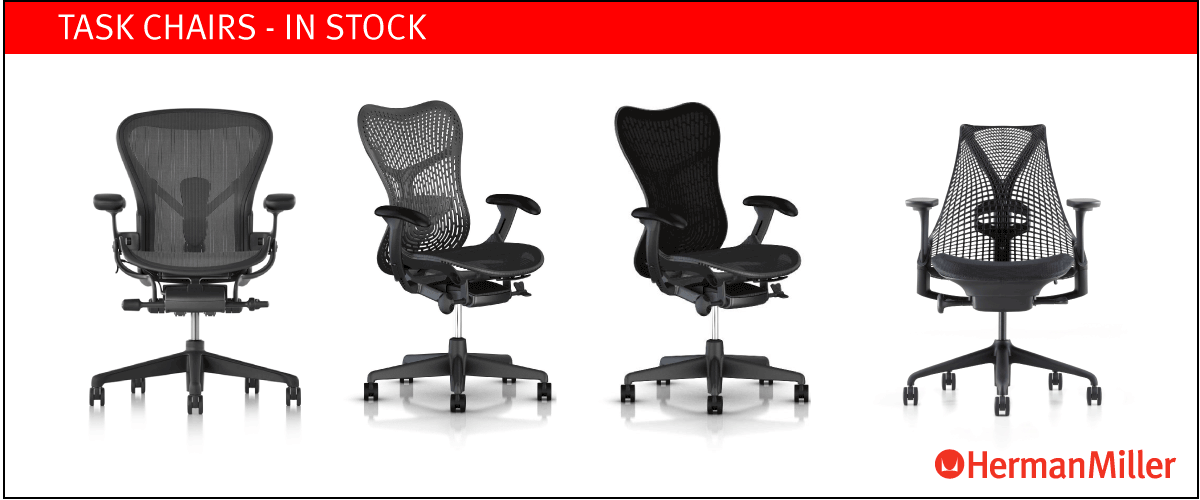 Work Chairs in stock at designcraft