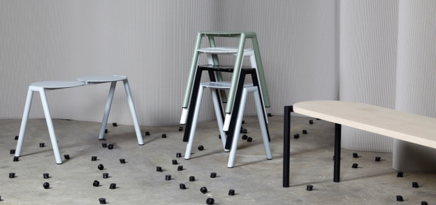 Furnished Forever collection, Canberra furniture designed by René Linssen and Elliot Bastianon,