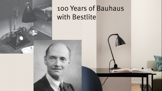 Bestlite a Bauhaus legend, Robert Dudley Best designer of the Bestlite by GUBI