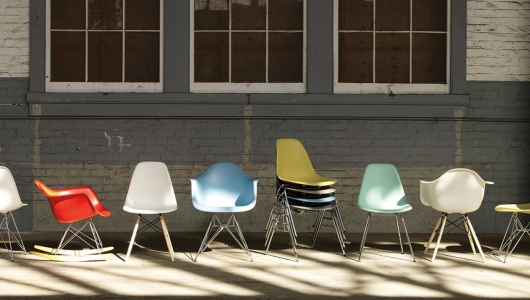 Eames Shell Chair designed by Charles and Ray Eames