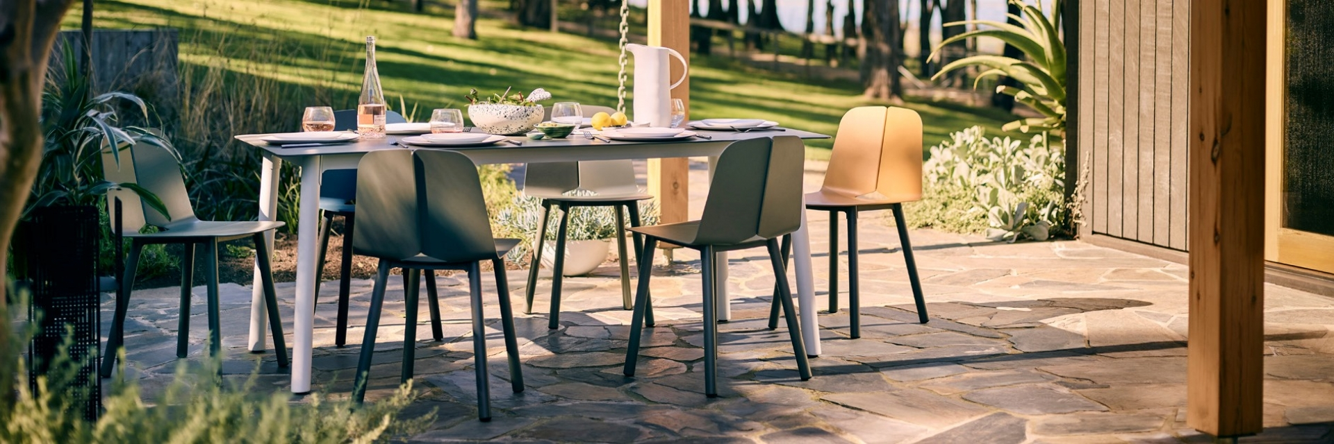 Seam dining by Tait, Seam designed by Adam Cornish