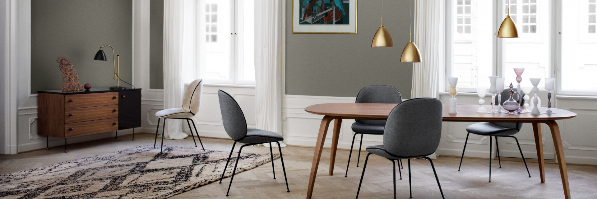 Beetle Chair by GUBI, The Beetle Collection designed by Gamfratesi for GUBI