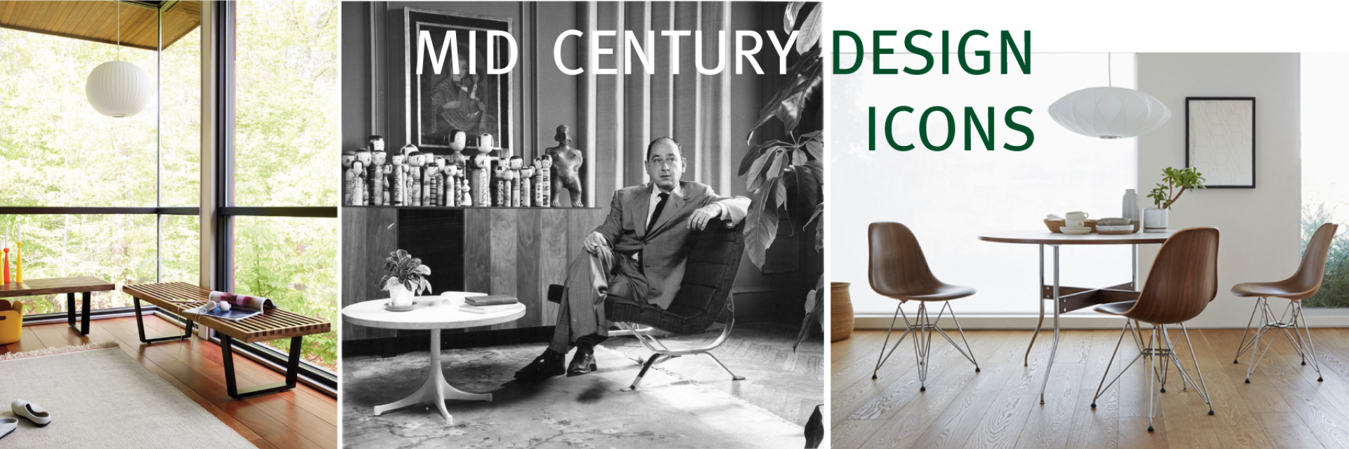 Mid Century Design Icons - George Nelson
