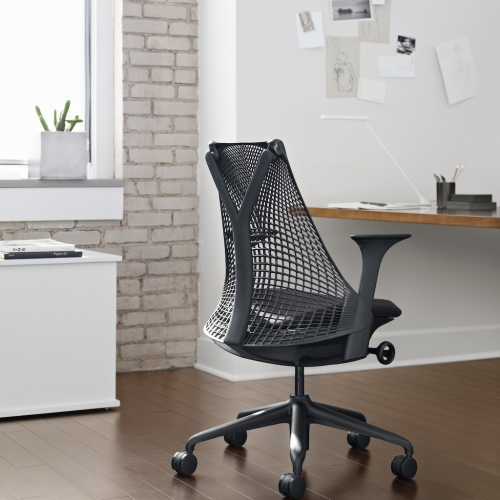 Sayl work chair, Herman Miller Y back chair, Herman Miller Yves Béhar chair