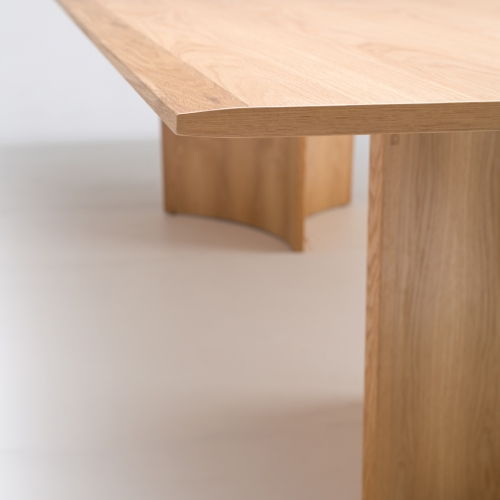 Crevasse dining table designed by Ross Didier, Didier Crevasse table