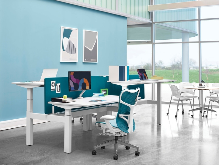 Augment Ratio by Herman Miller, Augment Ratio desking by Herman Miller