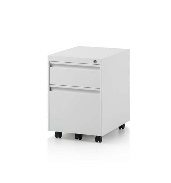 CK2 2 Drawer mobile pedestal by Herman Miller
