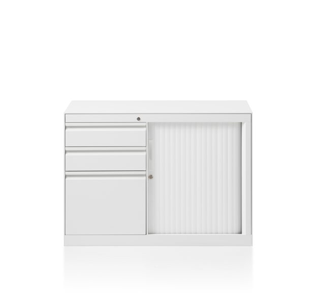 CK8 shuttle door return cabinet by Herman Miller