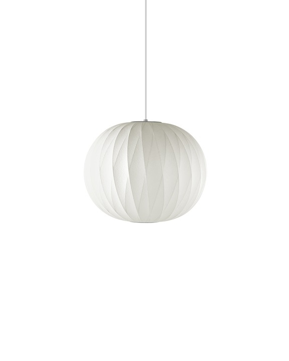 George Nelson Ball Bubble Lamp, Nelson Bubble Pendant by George Nelson.