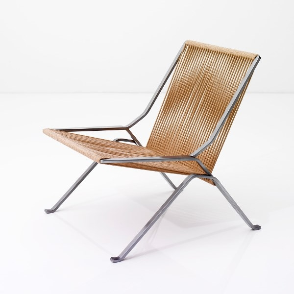 PK25 Lounge chair, PK25 Designed by Poul Kjærholm