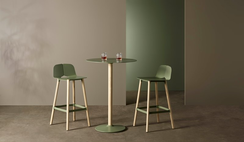 Seam by Tait Barstool, Barstool by Adam Cornish, Seam collection barstool