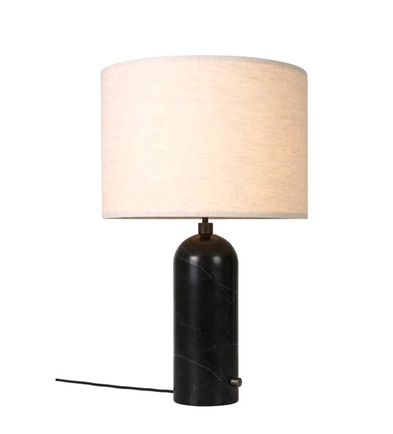 GUBI marble base lamp, Gravity lamp small, Marble table lamp by GUBI