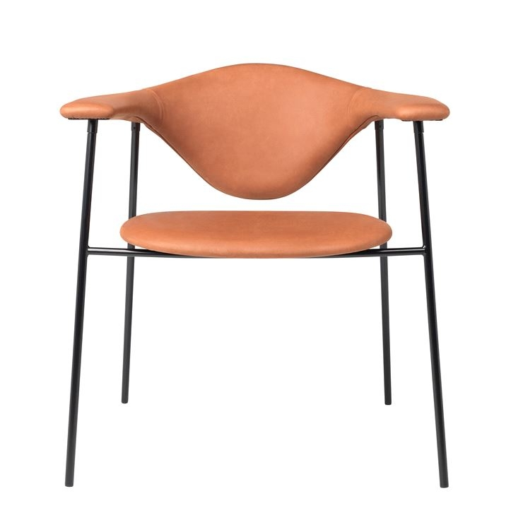 Masculo dining chair by Gubi, Gubi dining chair designed by GamFratesi