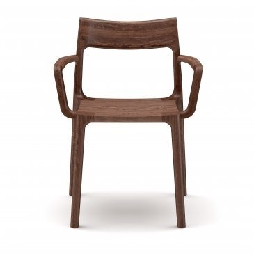 Adam Goodrum dining chair for NAU, Molloy dining chair by NAU, Molloy with arms