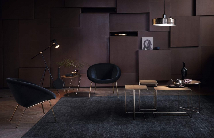 369 Armchair, Oki tables and Joco tables by Walter Knoll
