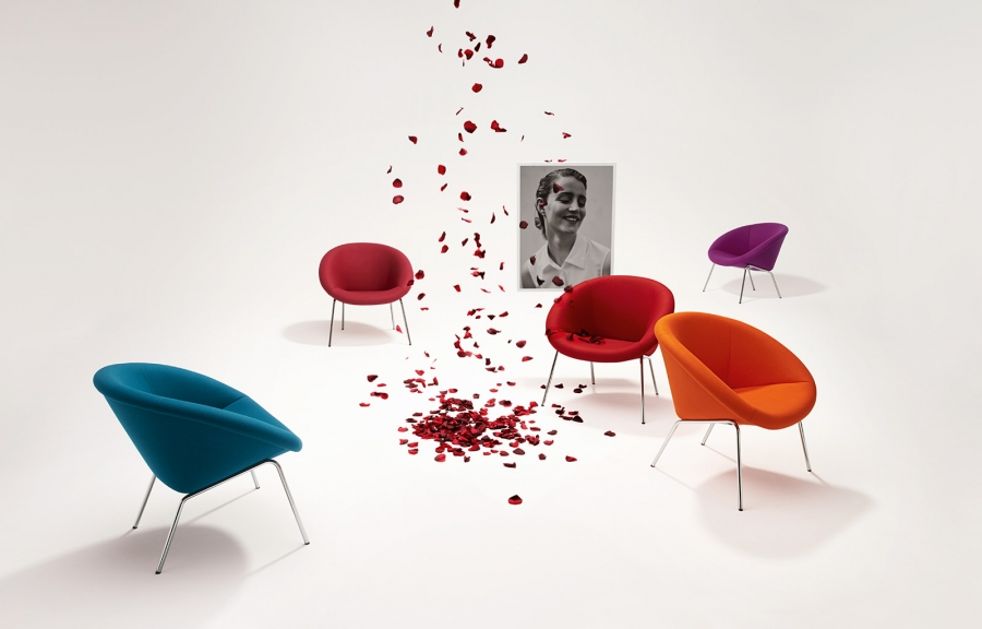 369 Armchair by Walter Knoll
