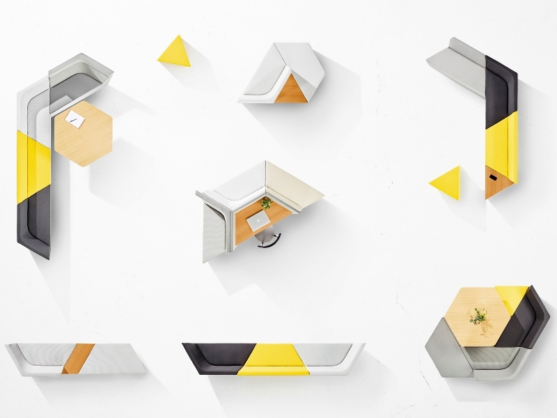 Prisma designed by Alexander Lotersztain, Prisma by Derlot Editions