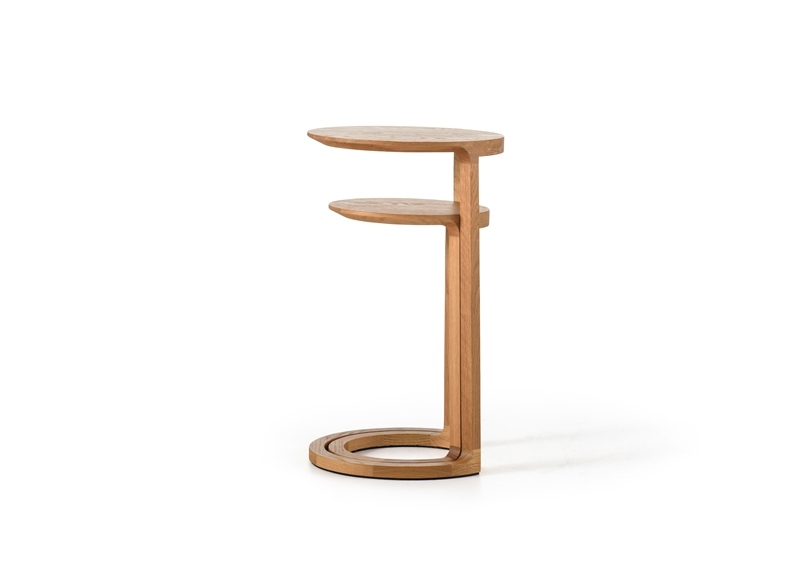 Nest table designed by Adam Goodrum for NAU, NAU nest tables by Adam Goodrum