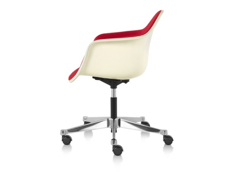 Eames Task Chair, Eames chair on castors, Eames dining chair on castors