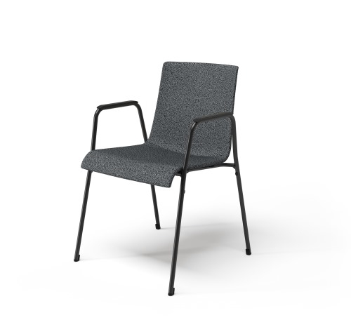 Liz M dining chair designed by Claudio Bellini for Walter Knoll, Walter Knoll Liz dining chair with arms