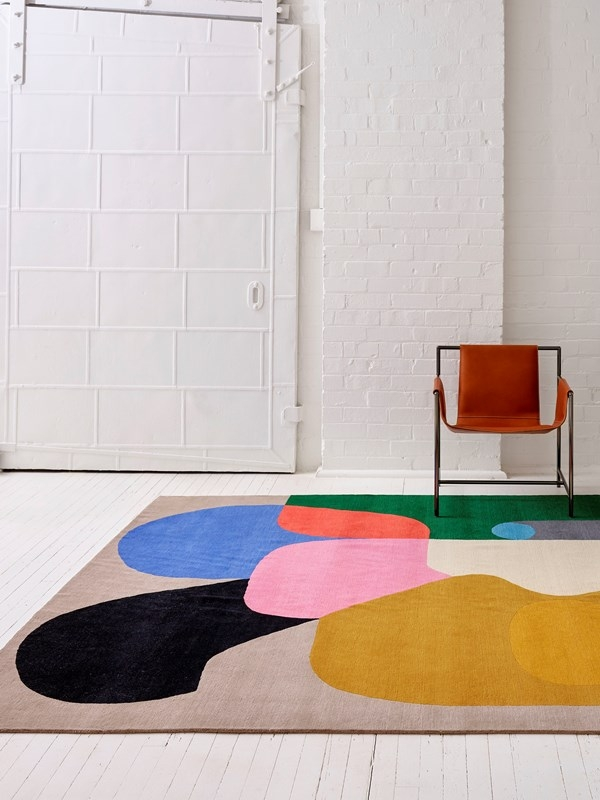 Crowded Room rug designed by Olsen + Ormandy for Designer Rugs, Designer Rugs Crowded Room Olsen + Ormandy collection