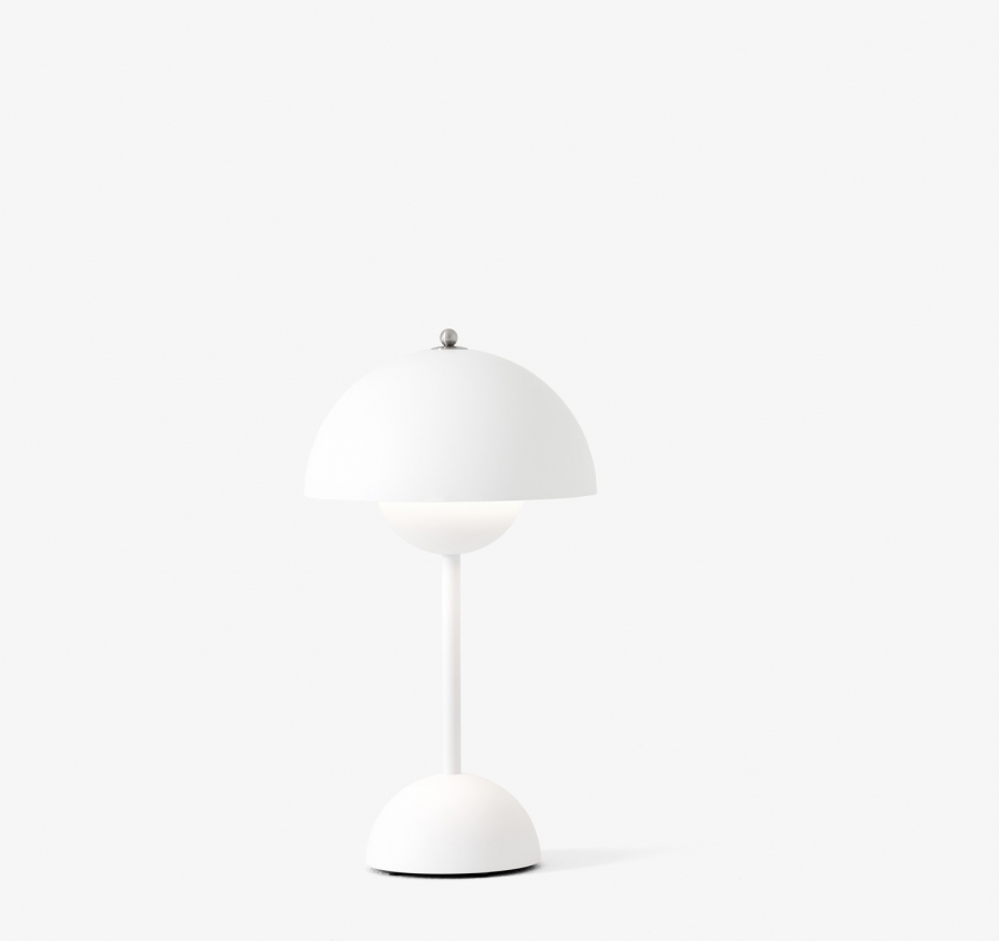 Flowerpot Portable Lamp designed by Verner Panton &Tradition, &Tradition Flowerpot Portable Lamp