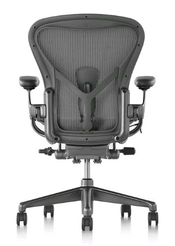 Aeron Remastered designed by Don Chadwick and Bill Stumpf for Herman Miller