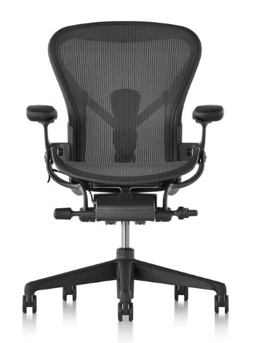 Aeron Remastered designed by Don Chadwick and Bill Stumpf for Herman Miller, Aeron Work chair, Task chair,