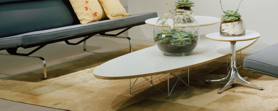 Eames Surfboard Coffee Table.Eames Elliptical Table Designcraft