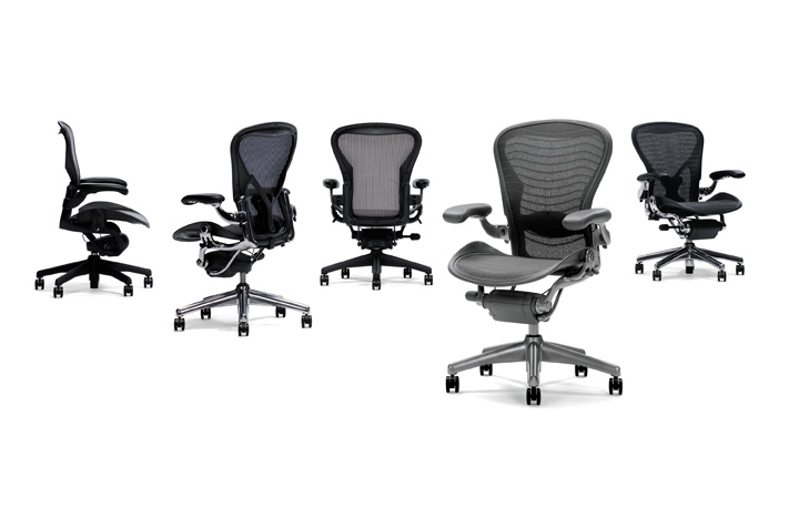 Aeron Classic Work Chair (no arms) - Size B - extra
