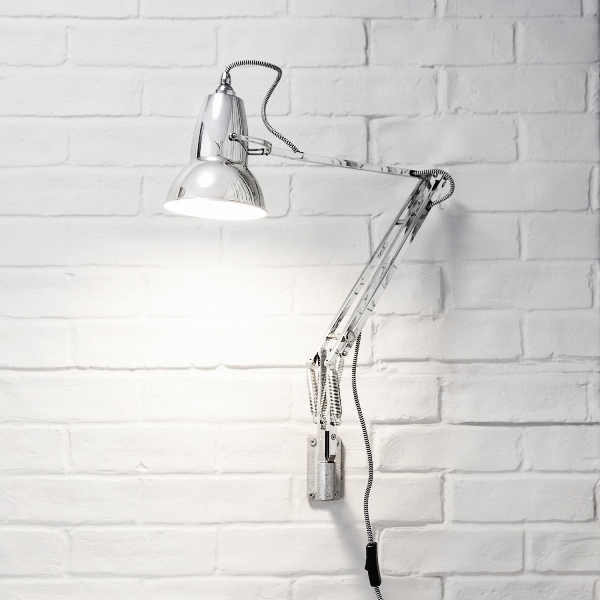 Original 1227 Wall Mounted lamp by Angelpoise, Original 1227 wall mounted lamp designed by George Carwardine