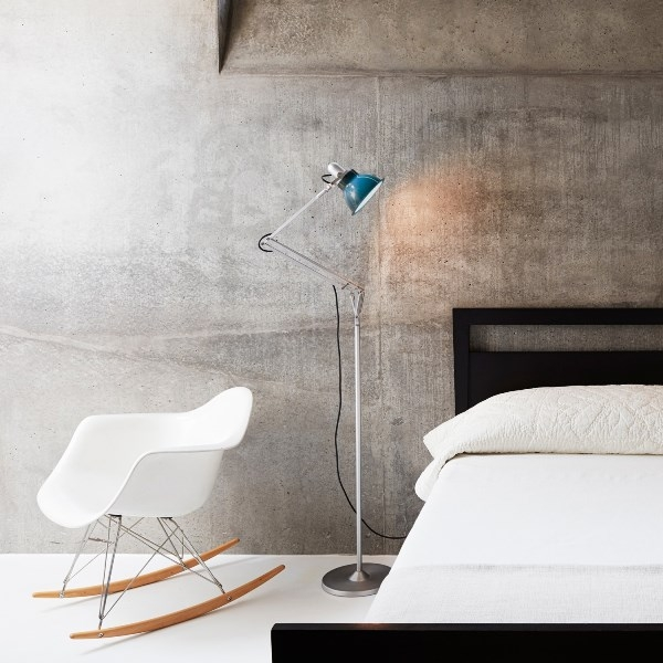 Type 1228 Floor Lamp by Angelpoise, Type 1228 Floor Lamp designed by Kenneth Grange