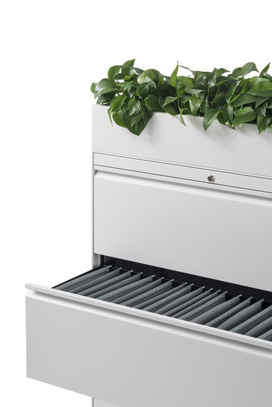 Planter for CK2 or CK8 storage cabinet by Herman Miller