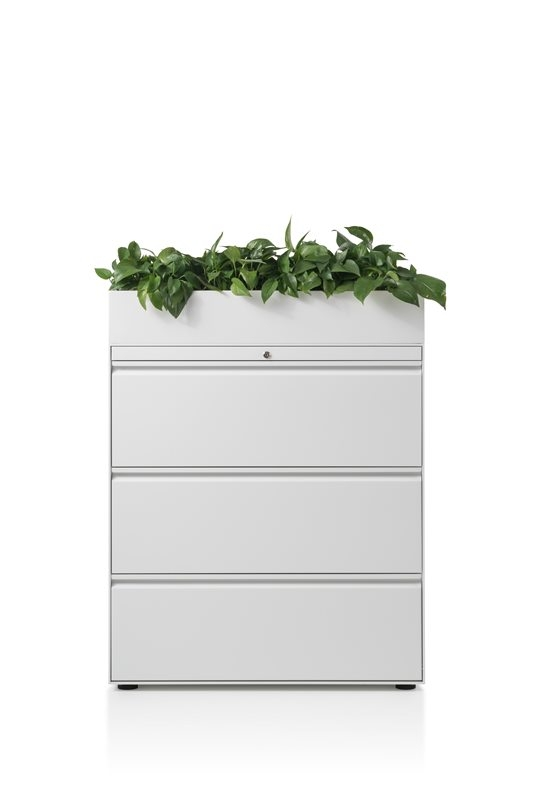 CK8 lateral filing cabinet by Herman Miller