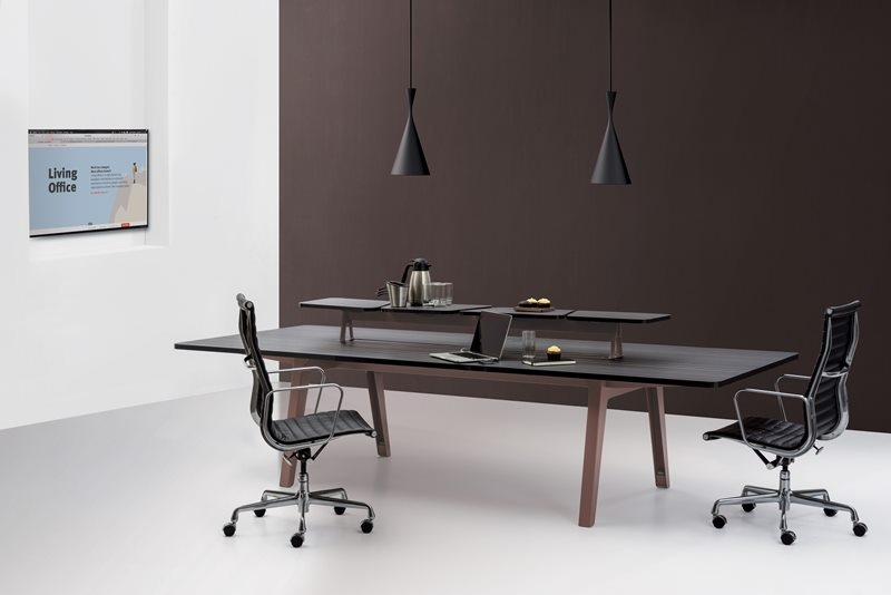 Optimis Desking system by Herman Miller