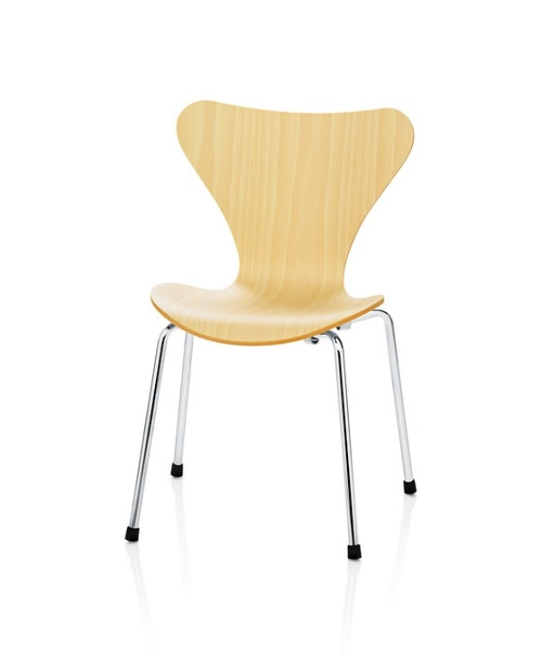 FH3177 Children's Chair, FH3177 Series 7 Children, FH3177 Children Chair Designed by Arne Jacobsen