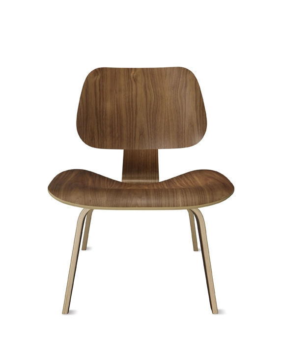 Eames Lounge Chair, Herman Miller Molded plywood chair