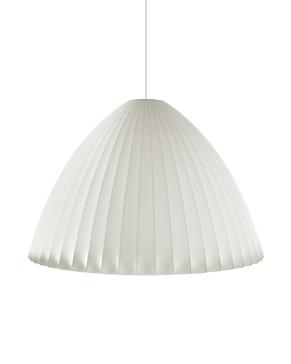 George Nelson Bell Bubble Lamp, Nelson Bubble Pendant by George Nelson.