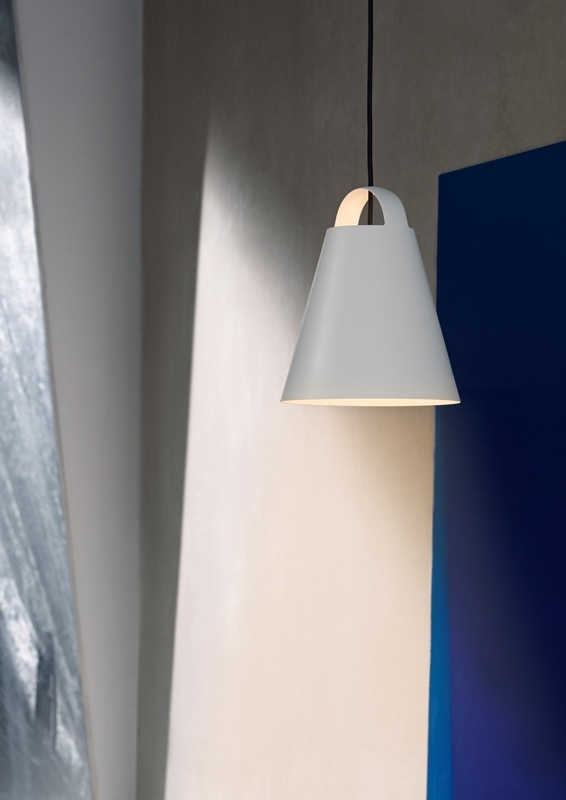 Above pendant lamp designed by Mads Odgård, Louis Poulsen Lamp Designed by Mads Odgård