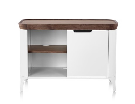 Airia Media Cabinet, Airia cabinet designed by Observatory, Herman Miller Airia media cabinet