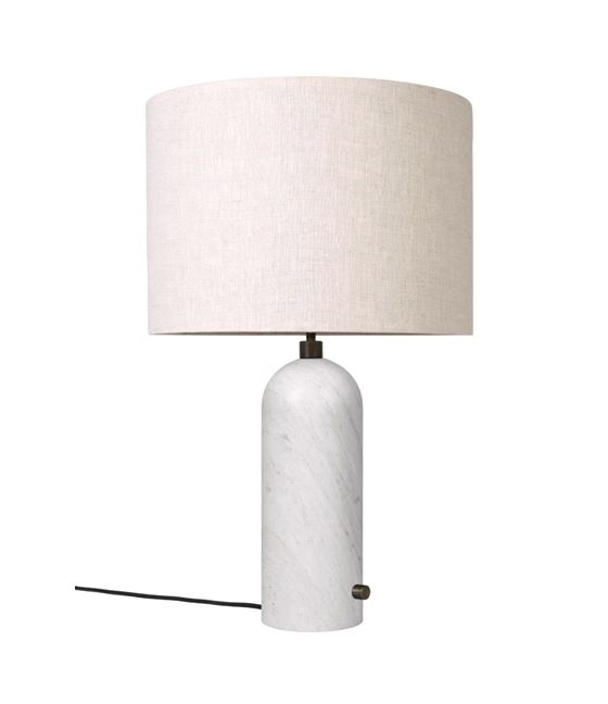 GUBI marble base lamp, Gravity lamp large, Marble table lamp by GUBI