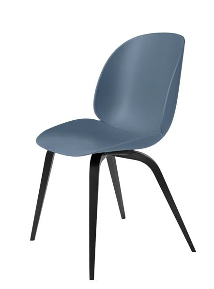 Gubi Beetle chair upholstered, Gubi beetle chair designed by GamFratesi, timber base gubi beetle chair