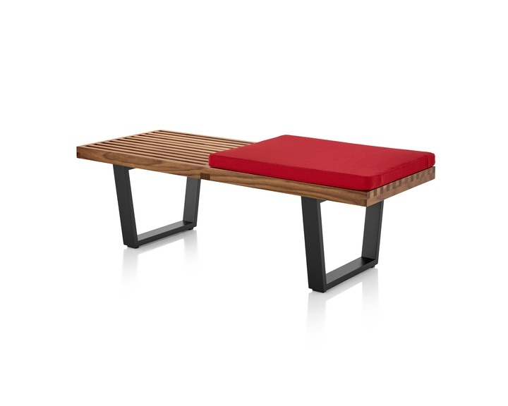 Nelson Platform Bench by Herman Miller, Nelson platform bench designed by George Nelson