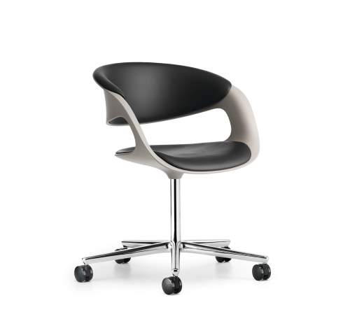 Lox chair designed by PEARSONLLOYD for Walter Knoll, Lox swivel chair Walter Knoll, Walter Knoll bucket chair