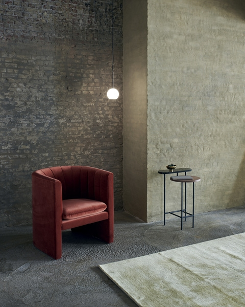 Loafer SC23 lounge chair designed by Space Copenhagen for &Tradition, &Tradition Loafer single seater designed by Space Copenhagen, Loafer easy chair SC23