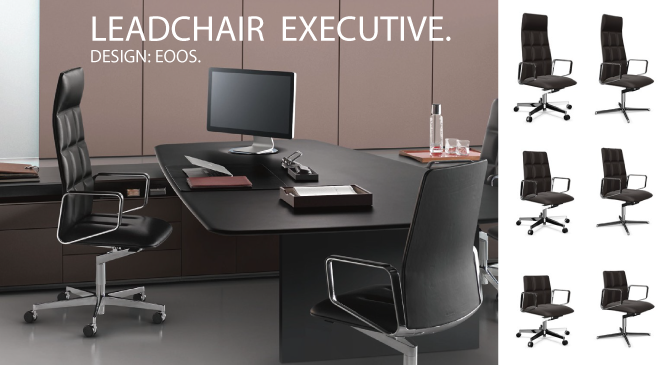 Leadchair Executive Chair by Walter Knoll