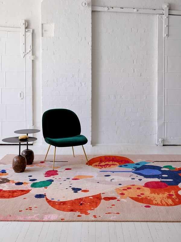 Springtime rug designed by Olsen + Ormandy for Designer Rugs, Designer Rugs  Olsen + Ormandy collection