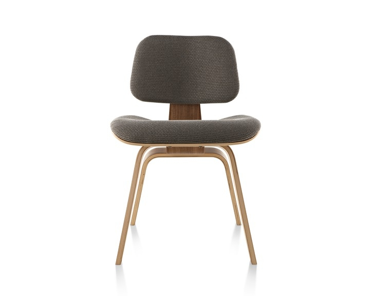 Eames Moulded Plywood Dining Chair with Wood legs, Herman Miller Eames DCW