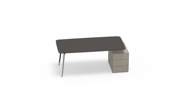 Keypiece Management Desk by Walter Knoll, Keypiece Management desk designed by EOOS