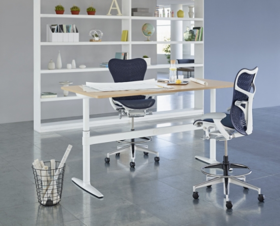 Atlas Office Landscape designed Tim Wallce, Atlas workstation by Herman Miller